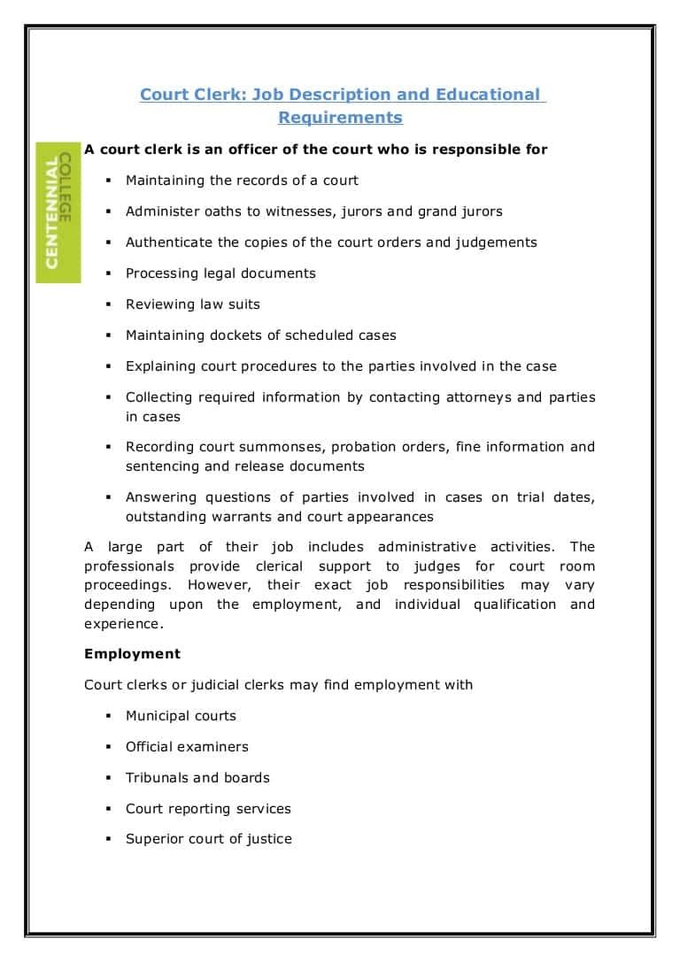 court-clerk-job-responsibilities