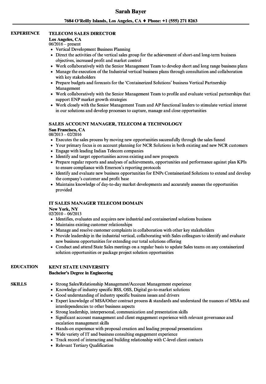 telecom-sales-job-responsibilities