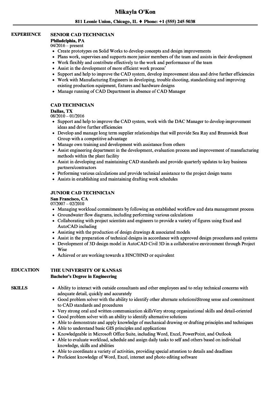 cad-technician-job-responsibilities