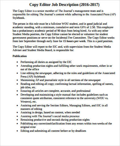 editor-job-responsibilities