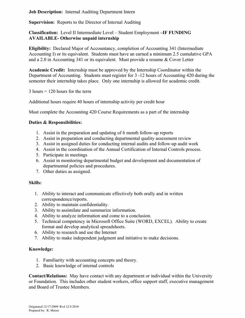accounting-student-job-responsibilities