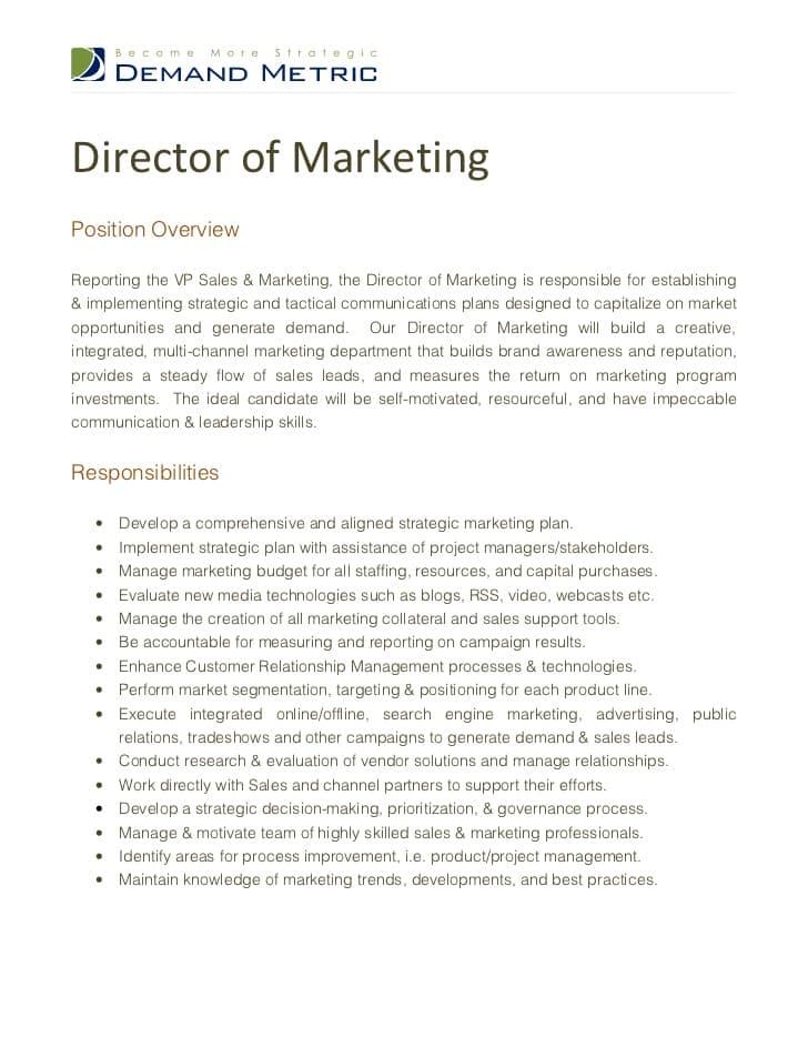 media-director-job-responsibilities