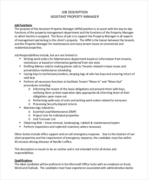 property-management-job-responsibilities