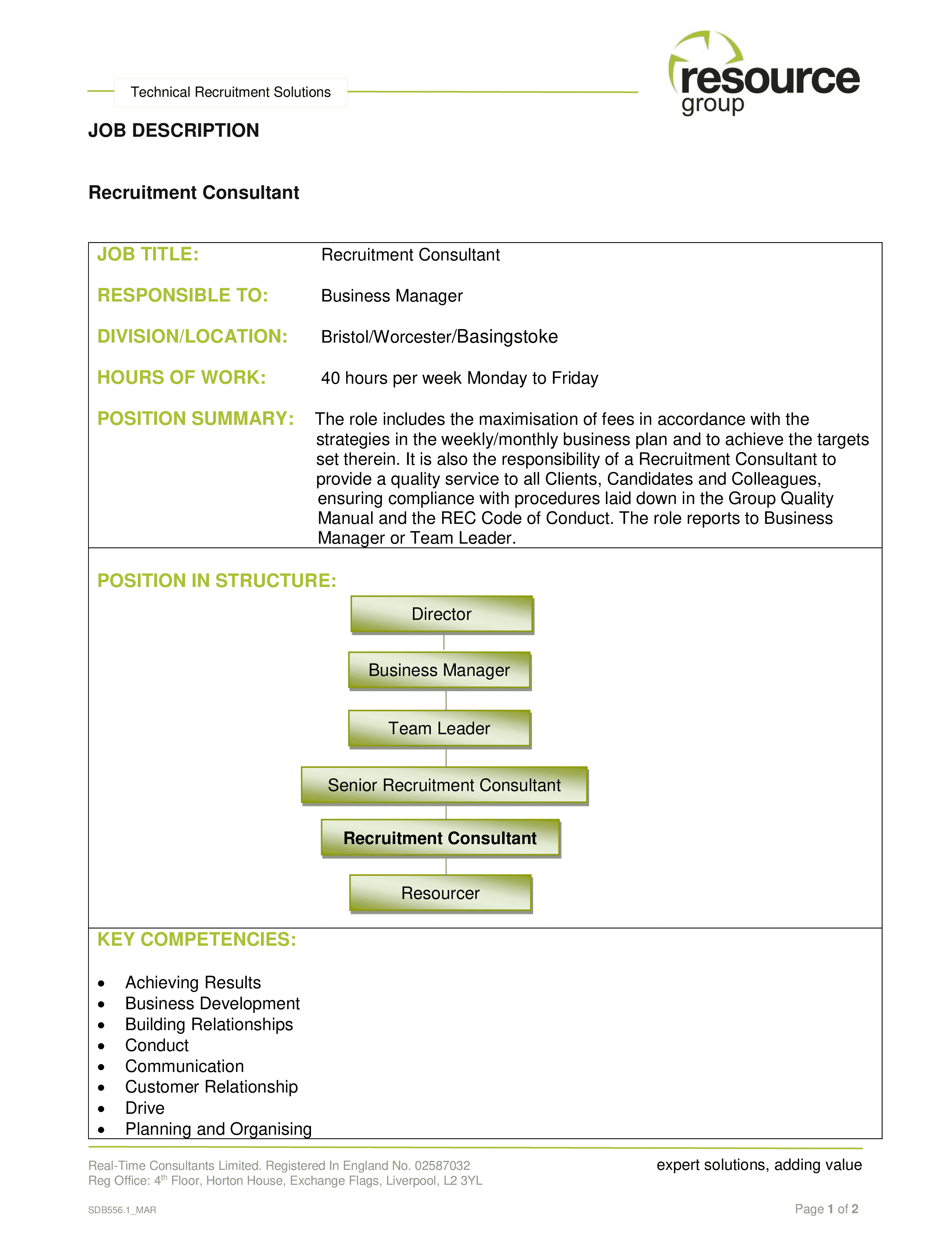 personnel-consultant-job-responsibilities