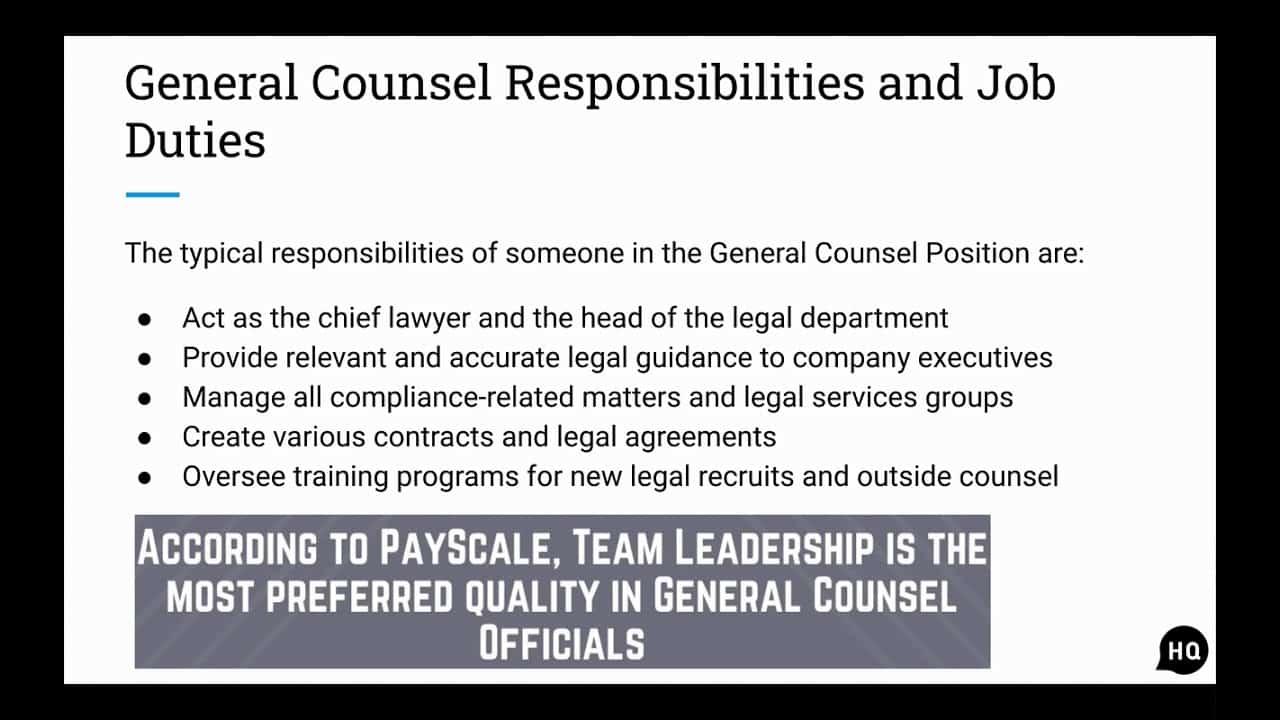 general-counsel-job-responsibilities