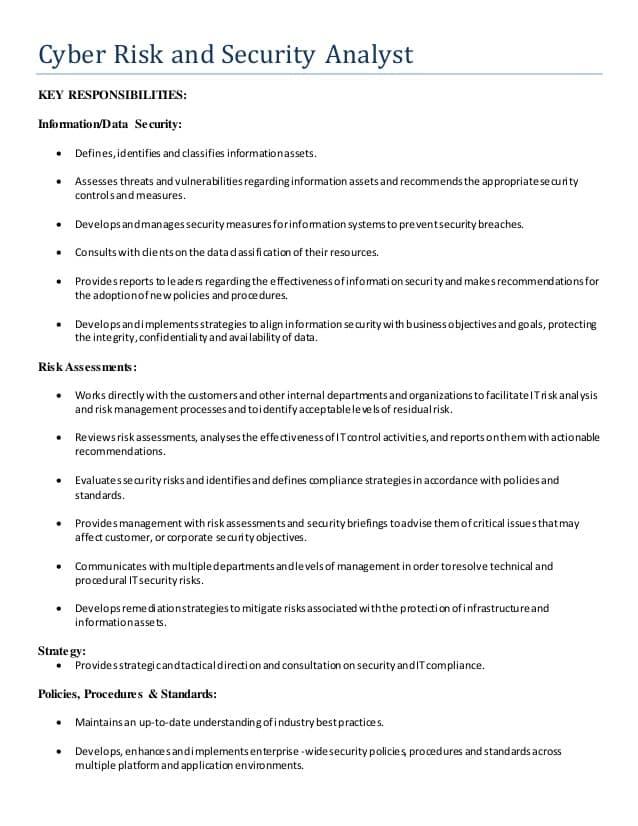 information-security-analyst-job-responsibilities