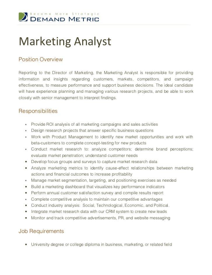 marketing-analyst-job-responsibilities