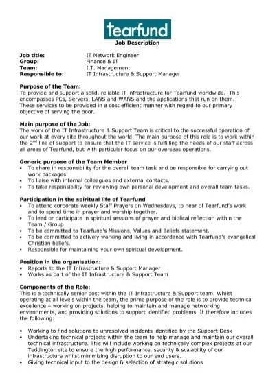 pcs-job-responsibility