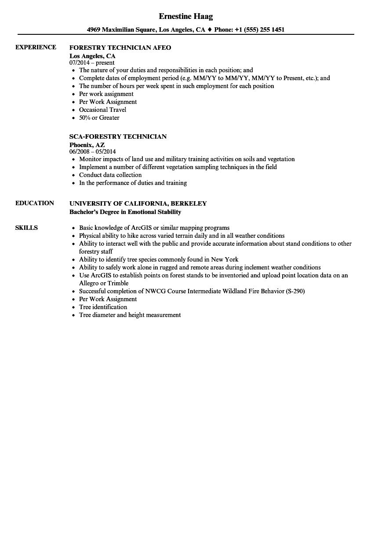 forestry-technician-job-responsibilities