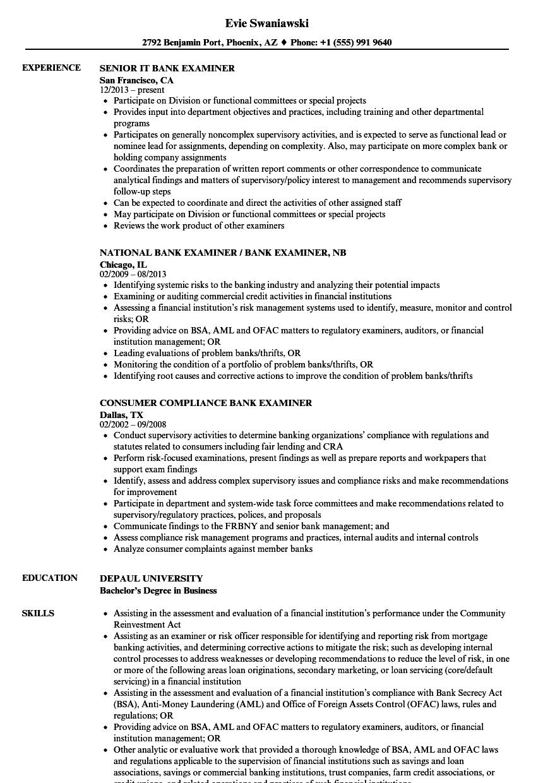 bank-examiner-job-responsibilities