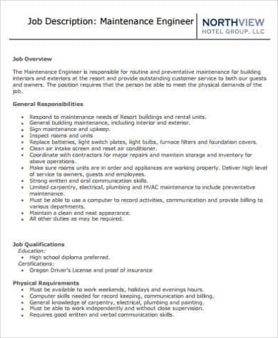 building-engineer-job-responsibilities