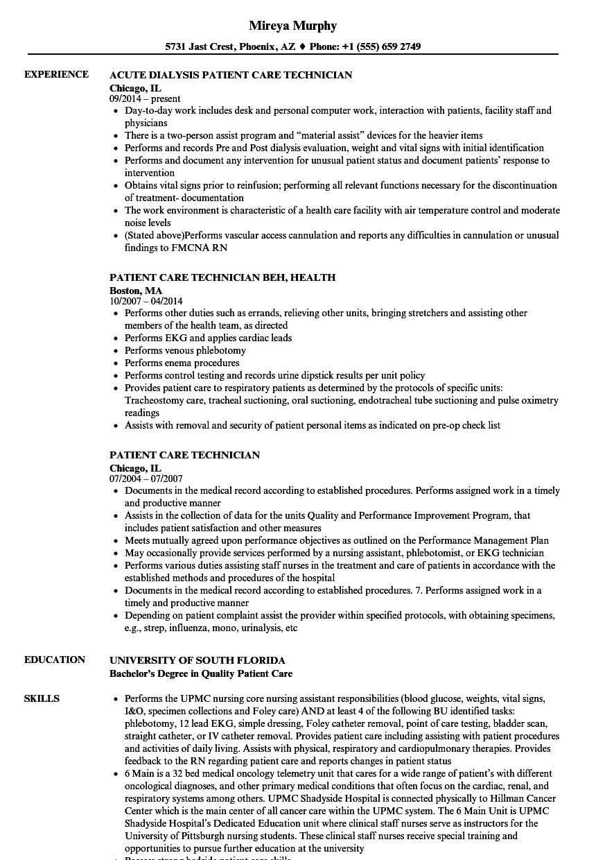 patient-care-technician-job-responsibilities