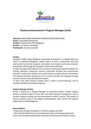 ngo-manager-job-responsibilities
