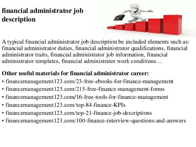 finance-administrator-job-responsibilities