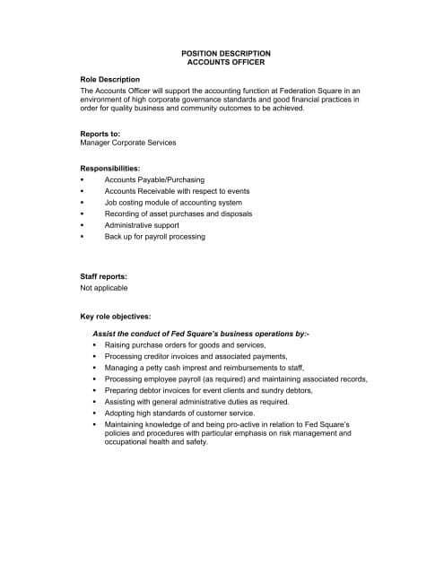 account-services-job-responsibilities