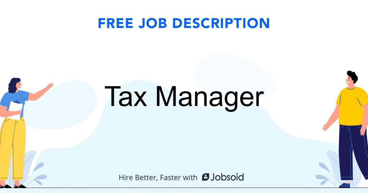 tax-manager-job-responsibilities