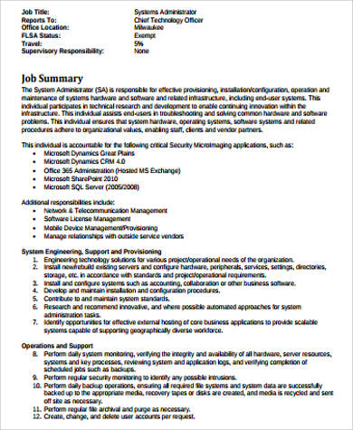 telecom-administrator-job-responsibilities