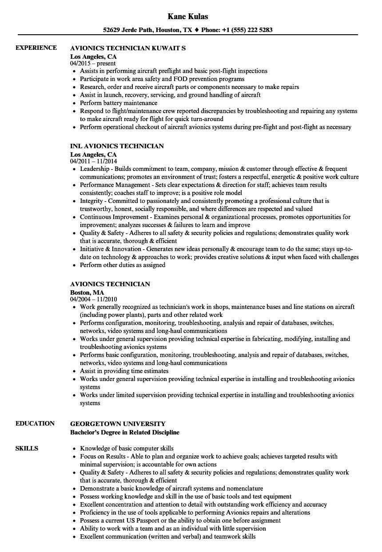 avionics-technician-job-responsibilities