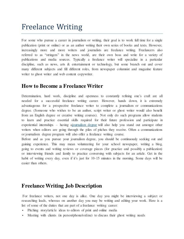 freelance-writer-job-responsibilities