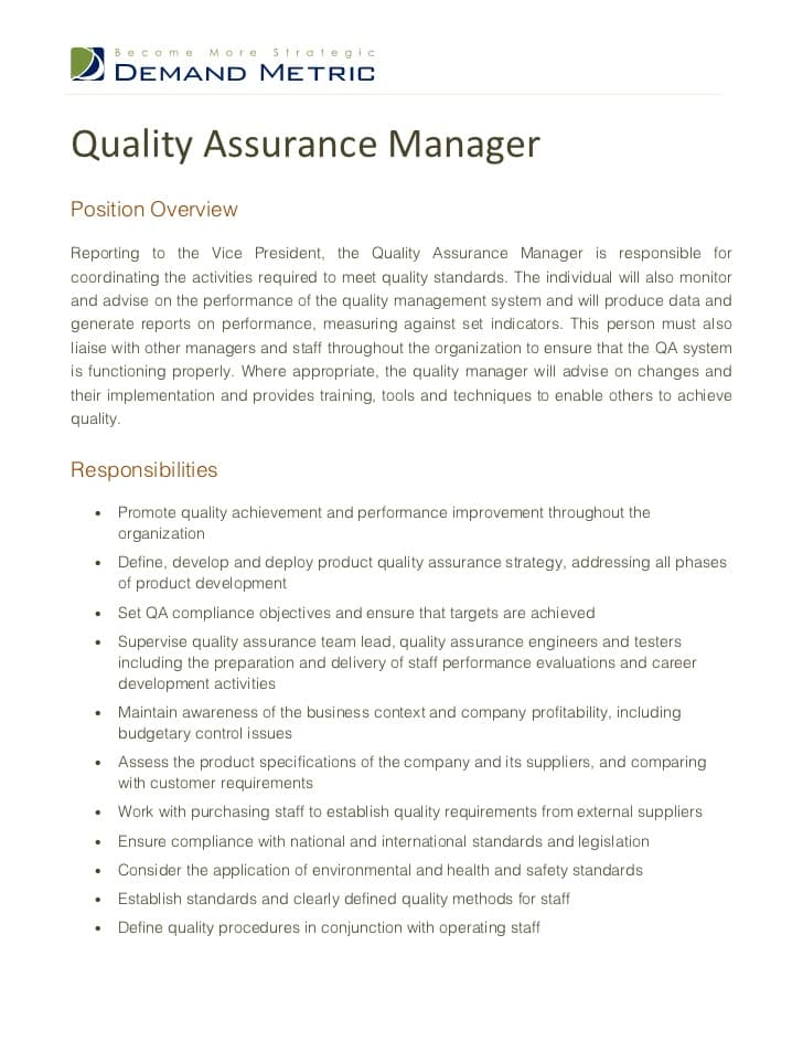 qa-manager-job-responsibilities