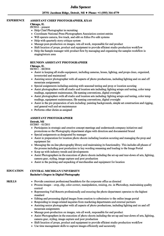 assistant-photographer-job-responsibilities