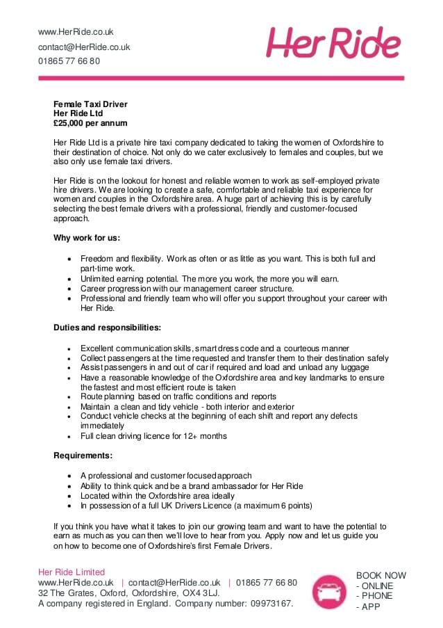 taxi-driver-job-responsibilities