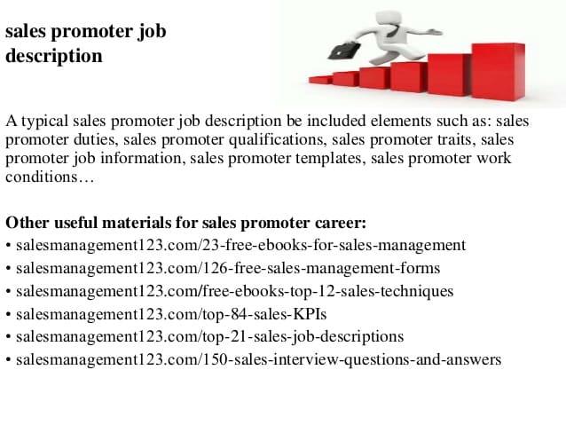 sales-promoter-job-responsibilities